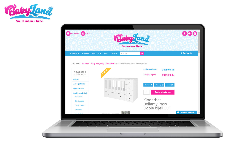 Webshop babyland